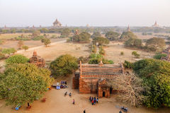 Sunset in Bagan, Myanmar Royalty Free Stock Photo