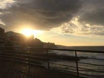 Sunset in Bajamar Stock Photography