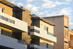 Sunset Balcony Royalty Free Stock Image