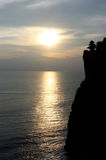 Sunset on Bali Royalty Free Stock Photo
