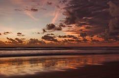 Sunset of Bali Royalty Free Stock Photo