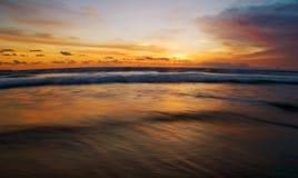 Sunset of Bali Stock Photography