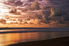 Sunset of Bali Royalty Free Stock Image