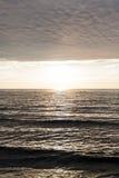 Sunset on the Baltic Sea Stock Photos