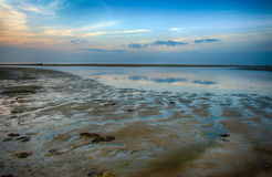 Sunset at Baltics Royalty Free Stock Photo