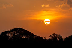 Sunset in Bangalore Stock Photography