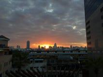 Sunset. From bangkok Royalty Free Stock Photos