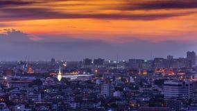 Sunset in Bangkok Royalty Free Stock Photo
