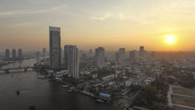 Sunset at Bangkok, Cityscape. Sunset at Bangkok , Cityscape (Thailand Stock Photo