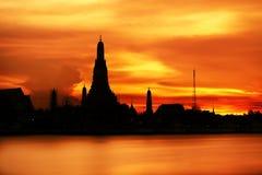 Sunset in Bangkok Stock Photography