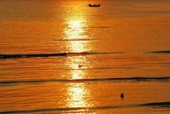 Sunset. At bangphu viewpoint samutprakarn Thailand stock photos
