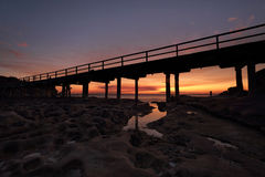Sunset Bare Island La Perouse Sydney Stock Images