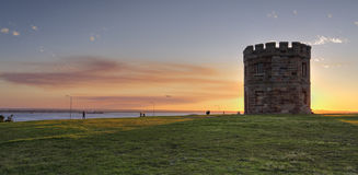 Sunset at Barrack Tower La Perouse Australia Royalty Free Stock Photography