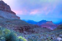 Sunset in Bass Canyon Stock Photos