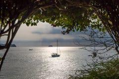 Sunset in Batangas Philippines. Stock Image