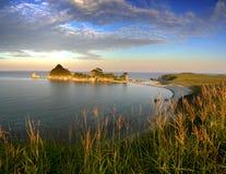 sunset bay Obraz Royalty Free