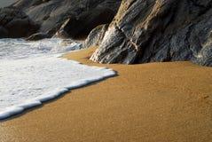Sunset beach Stock Photo