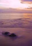 Sunset at the beach. In thailand island koh lanta Royalty Free Stock Image