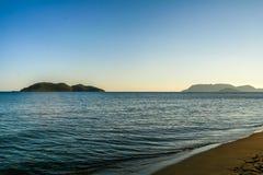 Sunset Beach. Beautiful sunset beach in Tenerife stock photo