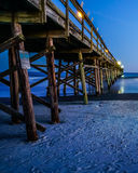 Sunset Beach fishing Pier Stock Images