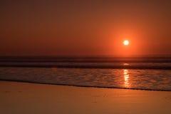 Sunset Beach royalty free stock photography