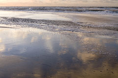 Sunset on the beach. Stock Image
