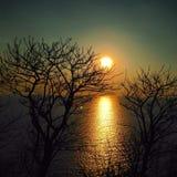 Sunset. Beautiful sunset form Lombok Island Royalty Free Stock Image