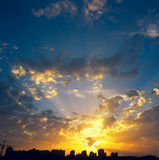 Sunset. Royalty Free Stock Photography