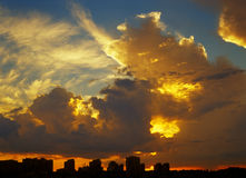 Sunset. Stock Photography