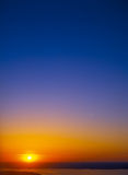 Sunset. Royalty Free Stock Image