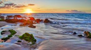 Sunset at Big Beach Stock Photos
