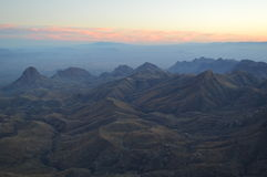 Sunset, Big Bend National Park, Texas Stock Image