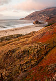 Sunset in Big Sur along the California Coast (Vertical) Royalty Free Stock Photos