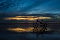 Sunset Bike Stock Photos