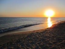 Sunset. On the black sea district Anapa Stock Photos