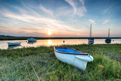 Sunset at Blakeney Stock Photography