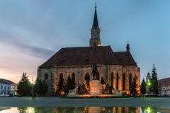 Sunset Blue Hour At Saint Michael Roman Catholic Church Royalty Free Stock Images