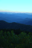 Sunset in the Blue Ridge Stock Photo