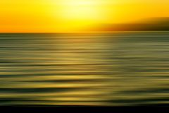 Sunset blur Royalty Free Stock Image