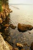 Sunset at Bol, Brac, Croatia Royalty Free Stock Image
