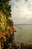 Sunset at Bol, Brac, Croatia Royalty Free Stock Photo