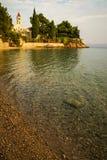 Sunset at Bol, Brac, Croatia Stock Photography