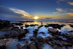 Sunset Bonaire Royalty Free Stock Image