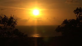 Sunset on Bonaire. Sunset on the Dutch Caribbean island of Bonaire stock video