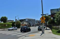Sunset Boulevard Royalty Free Stock Photos