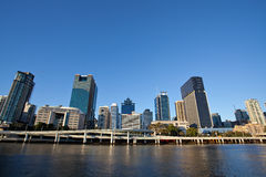 Sunset, Brisbane City Stock Images