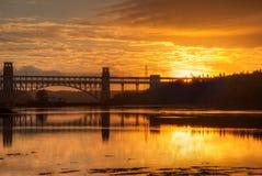 Brittania Bridge Royalty Free Stock Images