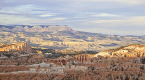 Sunset at Bryce canyon Stock Photography