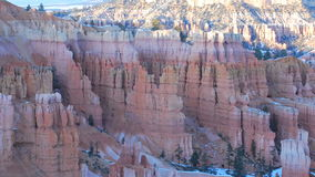 Sunset at Bryce Canyon Utah - Time Lapse. Sunset over the Hoodoos in Bryce Canyon Utah.  Shot with a Nikon D300s stock video footage