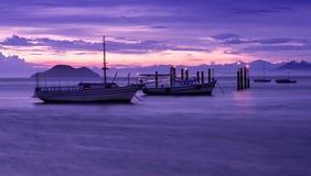 Sunset in Buzios. Rio de Janeiro Royalty Free Stock Photography